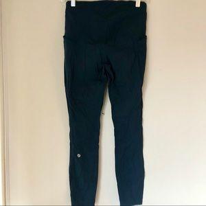 Lululemon | Zip Pockets Runner Leggings - Navy